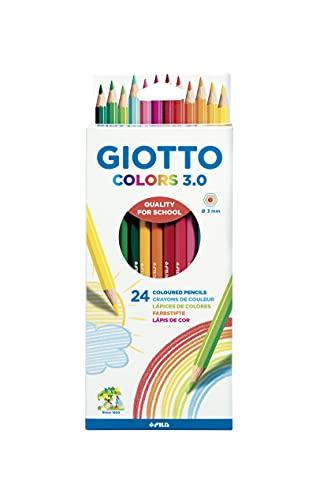 Giotto Colors 3.0 Lápices de Colores, Estuche 24 Uds.