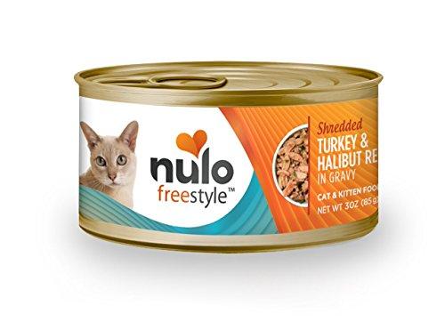 Nulo FreeStyle Gravy Recipe with Shredded Halibut and Turkey
