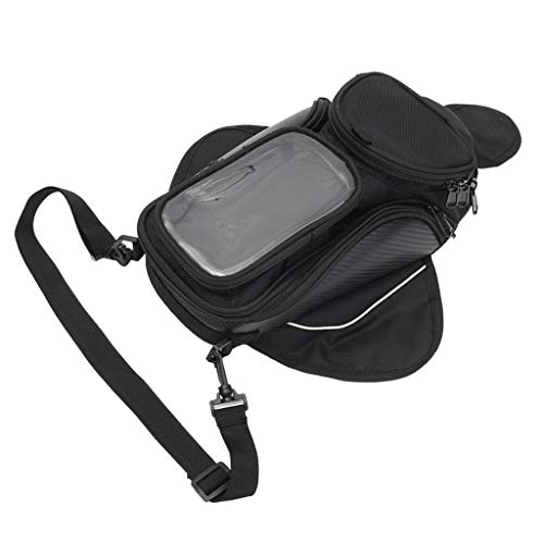 Motorbike Magnetic Tank Bag GPS Travel Luggage 16 X 10 cm Large Phone Pouch