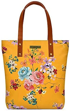 DailyObjects service Mustard Floral Tote Classic Bag 67% OFF of fixed price