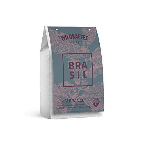 Wildkaffee Rösterei Brasil Capim Branco, 1000 g, Ganze Bohne