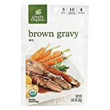 Simply Organic Brown Gravy Mix, Certified Organic, Gluten-Free | 1 oz | Pack of 12