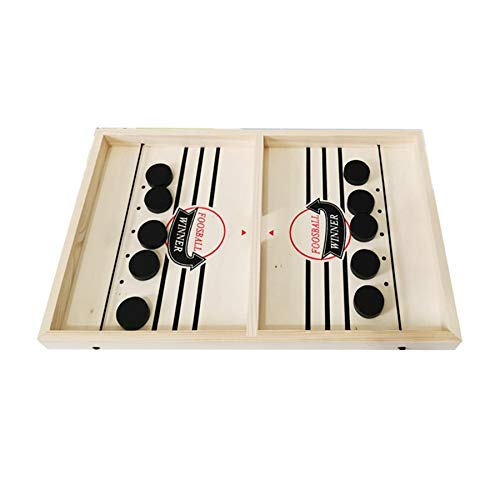 Fanuse Sling Puck Game Foosball Winner Juego de Mesa Bounce Chess Eject Chess Bounce Chess Party Inicio Juegos Interactivos Juguete