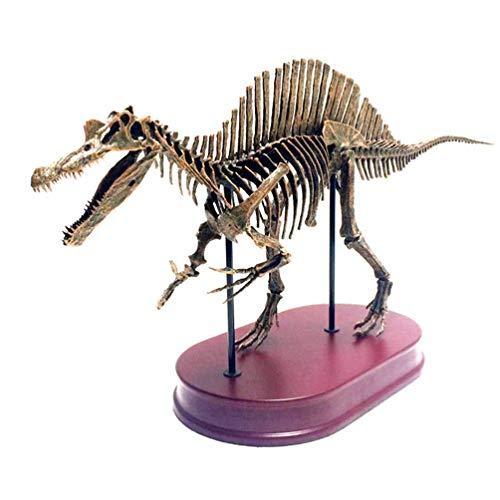 JYJTLHS Spinosaurus Corpse Skeleton Model Artifact, Jurassic Dinosaurs, uitgestorven dieren Dinosaur Fossil Specimen hars Model, 1/4 Schaal Faux Taxidermy, 6.6 Ib