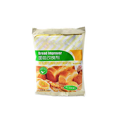Happinter 50g Bread Improver Dry Yeast Companion, Bulking Agent for DIY Kitchen Bread Baking Supplies