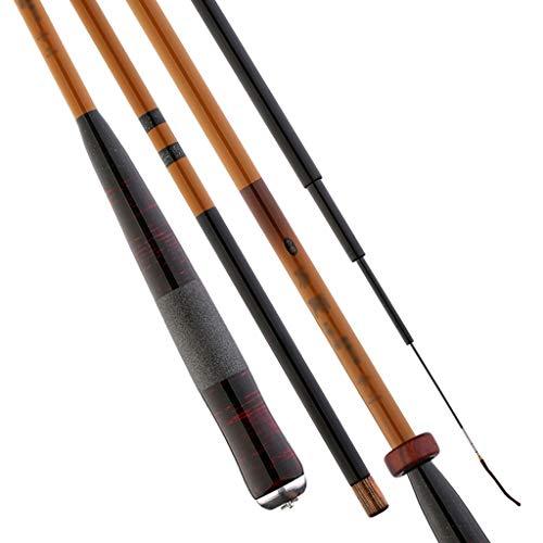 Canna da Pesca in bambù - Confortevole Impugnatura/Attrezzatura da Pesca, Canna da Pesca con Canna telescopica in Carbonio Ultralight Carpa Portatile (Dimensioni : 3.6m)