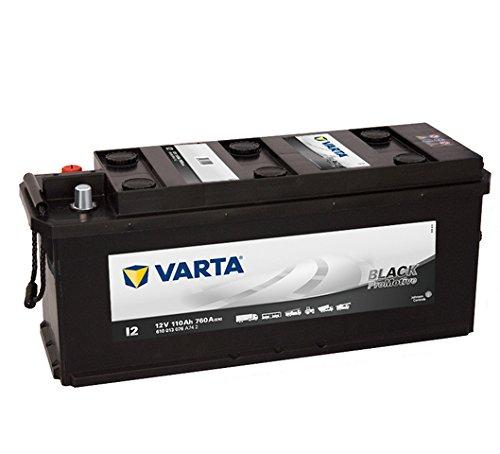 Varta Promotive Black I2-12 V / 110 Ah - 760 A/EN SHD RF Nutzfahrzeugbatterie
