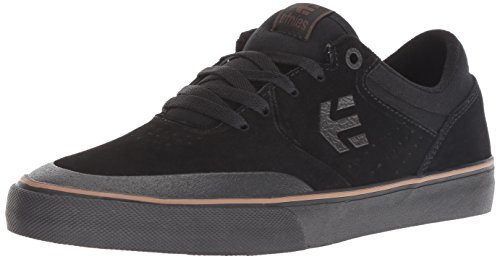 Etnies Herren Marana Vulc Skateboardschuhe, Schwarz (Black/Dark Grey/Gum 566), 42 EU