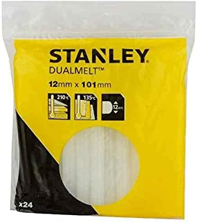 """Stanley 1-GS20DT Dual Temp Glue Stick, 100mm, 4"""", Pack of 24"""