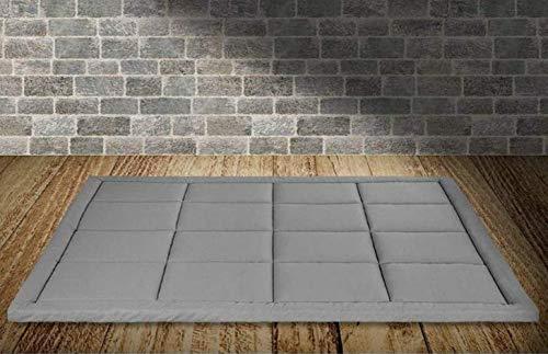 Evergreenweb - Materasso Letto Matrimoniale 160X190 futon Pieghevole e Arrotolabile. Materassi da Terra Alto 5 futon Trapuntato salvaspazio | Bed Ground