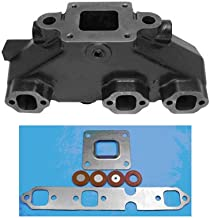 MerCruiser 4.3L Center-Rise Dry-Joint Exhaust Manifold w/Mounting Kit (2002-Current) - HGE Replaces-864612T02