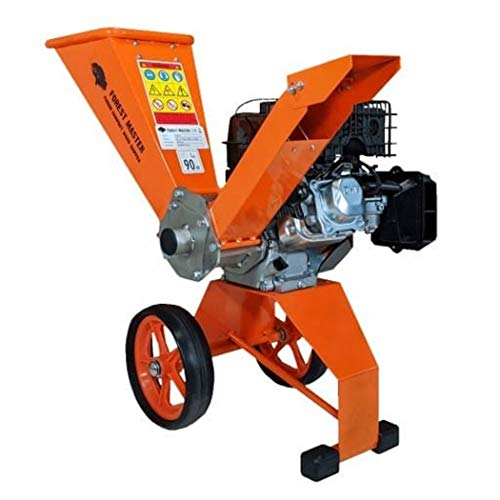 Forest Master Electric Start 6HP Garden petrol compact Chipper shredder, Lightweight well balance easy to...