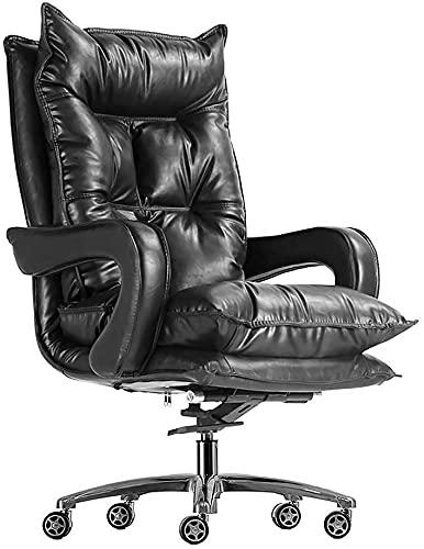 HZYDD Silla de oficina, oficina, oficina, oficina, oficina, oficina, silla ergonómica de piel sintética, para juegos, oficina, transmisión en vivo, silla giratoria (color: 10)