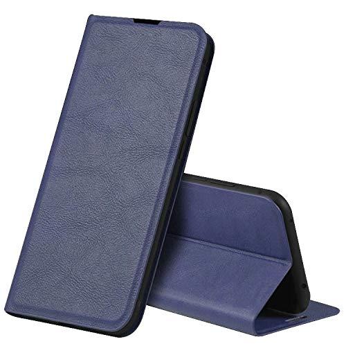 Xiaomi Mi 10 Lite 5G XIG01 ケース/カバー 手帳型レザー スタンド機能 カード収納 上質なPUレザー ケース シャオミ 小米 10ライト5G手帳型レザーケース/カバー 落下防止 おしゃれ スマホケース/カバー(ブルー)