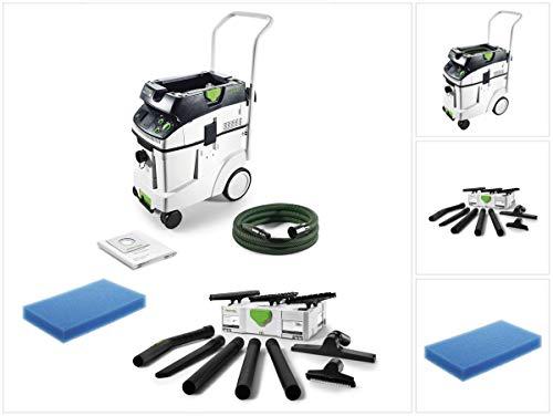 Festool CTM 48 E CLEANTEC - Aspirapolvere da 48 l, classe M (574992) + accessori per la pulizia