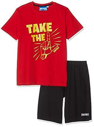 Fortnite 8843 Pijama, Rojo (Rouge Rouge), 12 años para Niños
