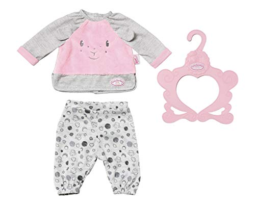 Zapf Creation 702826 Baby Annabell Sweet Dreams Pyjama 43 cm, bunt