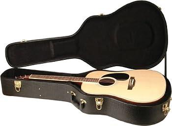On-Stage GCA5000B Acoustic 12-String Guitar Hard Case Black