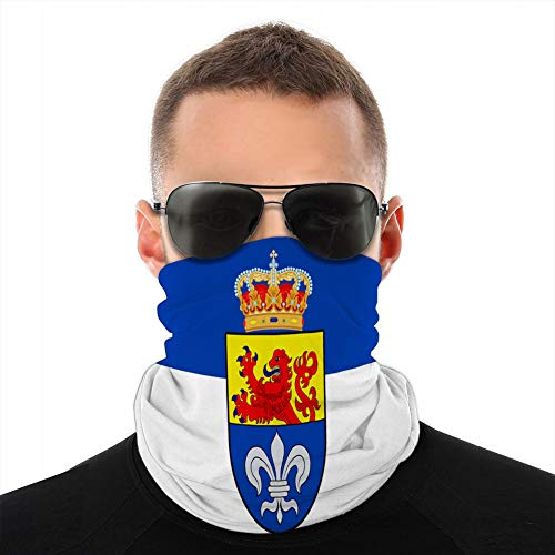 fgdhfgjhdgf Microfiber Neck Scarf Gaiter Headwear Cover Shield Flag of Darmstadt in Hesse Germany Unisex Cover Shield