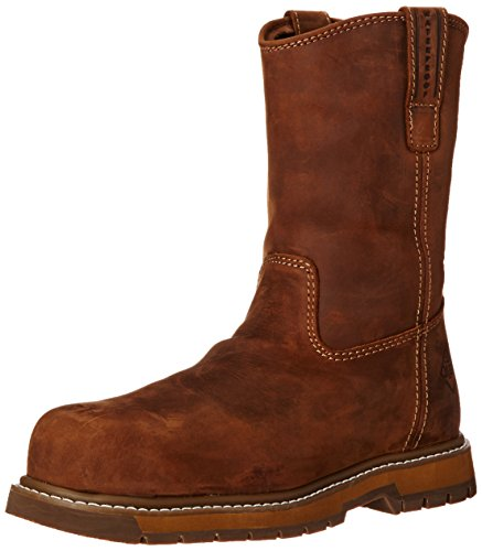Muck Wellie Classic Composite Toe Men's Leather Work Boots, Medium Width