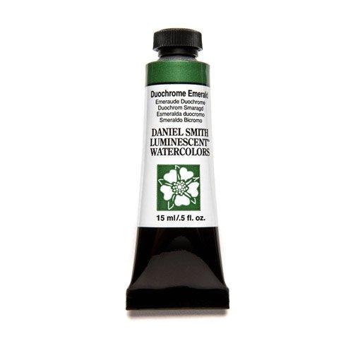 DANIEL SMITH Extra Fine Watercolor Paint, 15ml Tube, Duochrome Emerald, 284640042