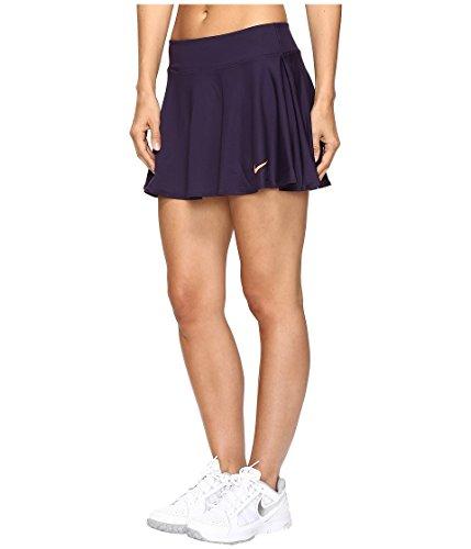 Nike Baseline Falda, Mujer, Morado (Purple Dynasty/Bright Mango ...