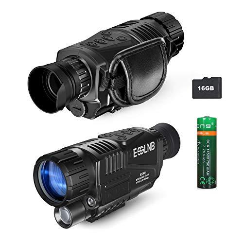 ESSLNB 40mm Night Vision Monocular 5X Digital Infrared Monocular