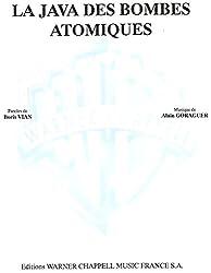 Vian Boris La Java Des Bombes Atomiques Voice & Piano Book