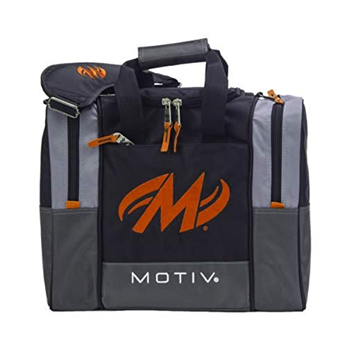 Motiv Shock Single Deluxe Bowlingtasche, Schwarz/Orange