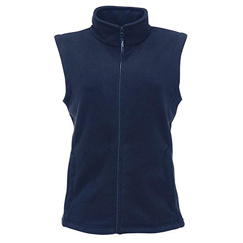 Regatta Womens/Ladies Micro Fleece Bodywarmer / Gilet (10) (Black)