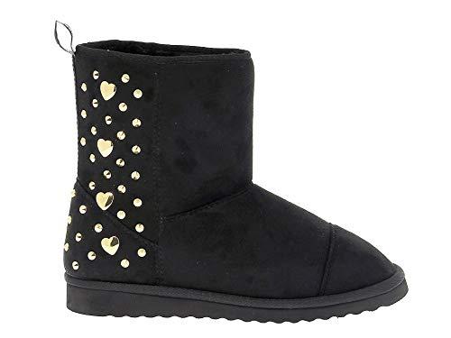 Love Moschino Luxury Fashion Femme 24173 Noir Suède Bottines | Printemps-été 20