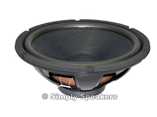 Simply Speakers 15 Inch Woofer, Realistic Mach One, Mach Two, W-1500