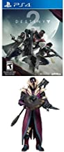 Destiny 2 - PlayStation 4 Standard Edition + McFarlane Toys Destiny King's Fall Warlock Collectible Action Figure, 7