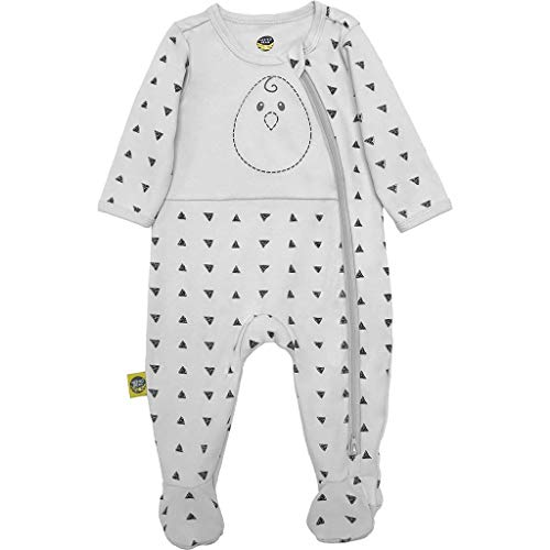 Nested Bean Zen Footie Pajama Classic - Gently Weighted, Long Sleeved, 100% Cotton (6-12 Months,...