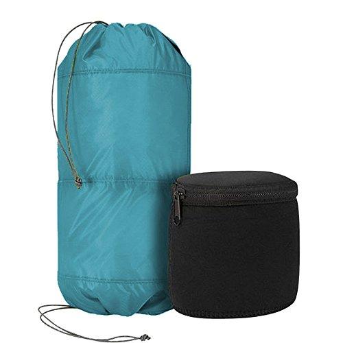 TREKMATES 2 Tier Padded Stuff Bag 6L - Borsone Ultraleggero con 2 Scomparti e 2 contenitori Separati