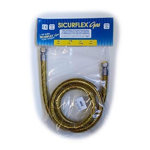 Tubo flexible de acero inoxidable con cordón de gas para