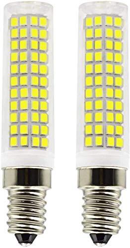 JFFFFWI E14 Bombillas LED 10W Equivalente a 100W 90W 80W Halógena no Regulable Blanco frío 6500k 980 Lumen 220V 230V 360 & deg;Ángulo de Haz de luz E14, Ahorro de energía, Bombilla de Base