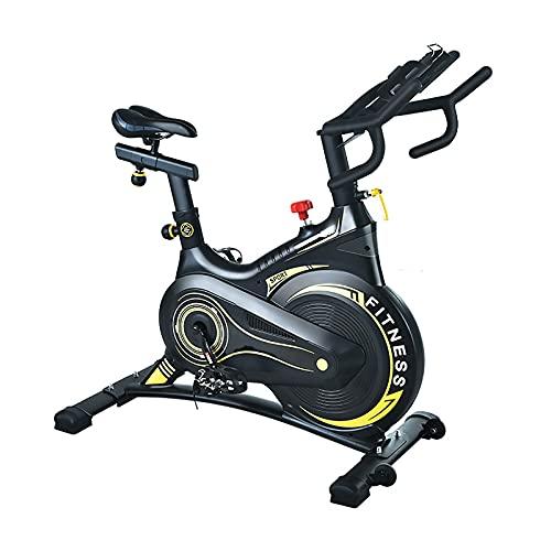 BETTER ANGEL LE Bicicleta Estatica De Profesional Bici Ejercicio con Soporte - Monitor Cómodo Cojín De Asiento, Bicicleta Indoor, Speedbike con Sistema De Bajo Ruido, Sistema De Absorción De Impactos