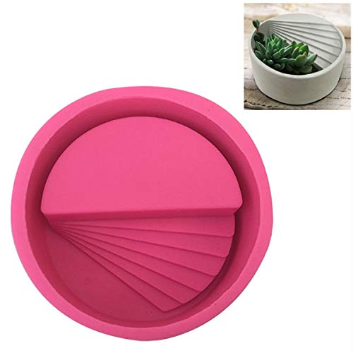 House Shape Plants Pot Mould,DIY Succulent Plant Flower Geometric Silicone Flower Pot Mold,Easy to Release and Clean DIY Small Molds,for Flower Pot And Ashtray