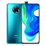Xiaomi Poco F2 Pro 5G - Smartphone de 6.67' (Super AMOLED Screen, 1082 x 2400 pixels, Qualcomm SM 8250 Snapdragon 865, 4700 mAh, Quad Camera, 8 K Video, 8 GB/256 GB RAM), Neon Blue