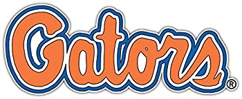 Decal Vinyl Sticker Florida Gators Vinyl Durable for Bumpers Helmets Laptops Water Bottles Lockers  3  Longest Side