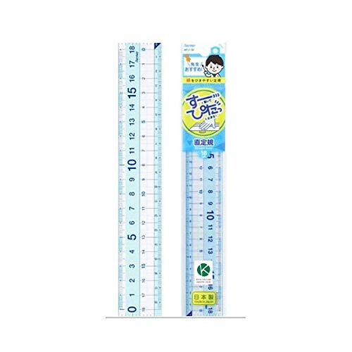 レイメイ 先生おすすめ直定規18cm APJ136 【× 2 個 】