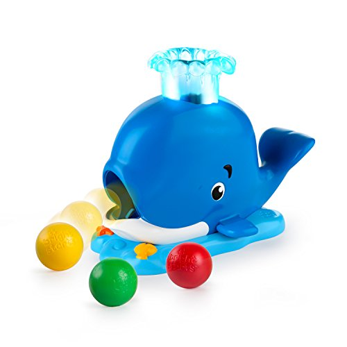 Bright Starts, Baleine Silly Spout Whale Popper