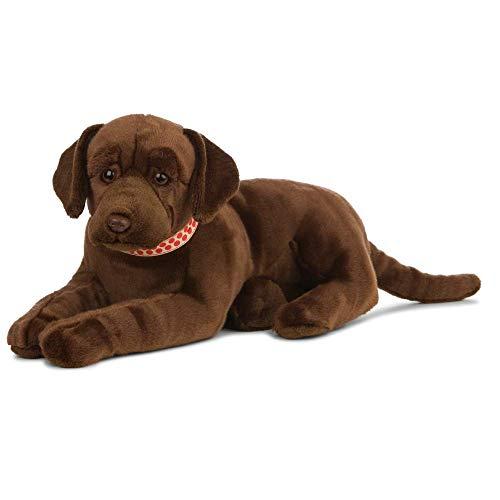 Nature-AN479 Living Nature - Peluche gigante para perro labrador, color marrón chocolate (60 cm), Keycraft AN479 , color/modelo surtido