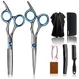Best Hair Cutting Shears - Hair Cutting Scissors Kits ,Stainless Steel Hair Cutting Review