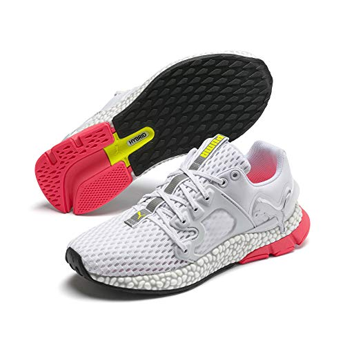 PUMA, Hybrid Sky, sneakers voor dames, wit, roze loopschoenen