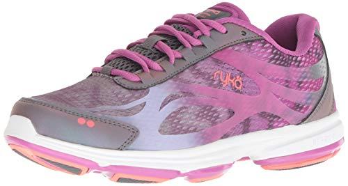 Ryka Women's Devotion Plus 2 Walking Shoe, Grey, 7 M US