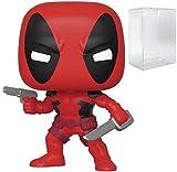 Marvel: 80th First Appearance - Deadpool Pop! Figura de Vinilo (Incluye Funda Protectora Compatible con Pop Box)
