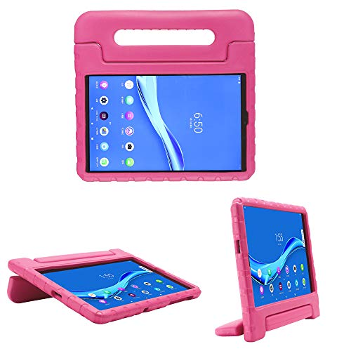 cradle HR Compatible Kids Protective New Hand stand Case for Lenovo Tab M10 FHD Plus (TB-X606F/TBX606X) 10.3 Inch Tablet,EVA Light Weight Protective Case Shock Proof stand Cover (magenta)