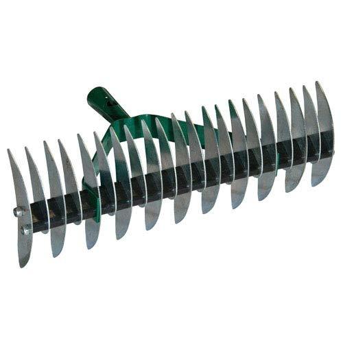 Rastrello Sarchiatore 32 denti in acciaio verniciato senza manico Papillon